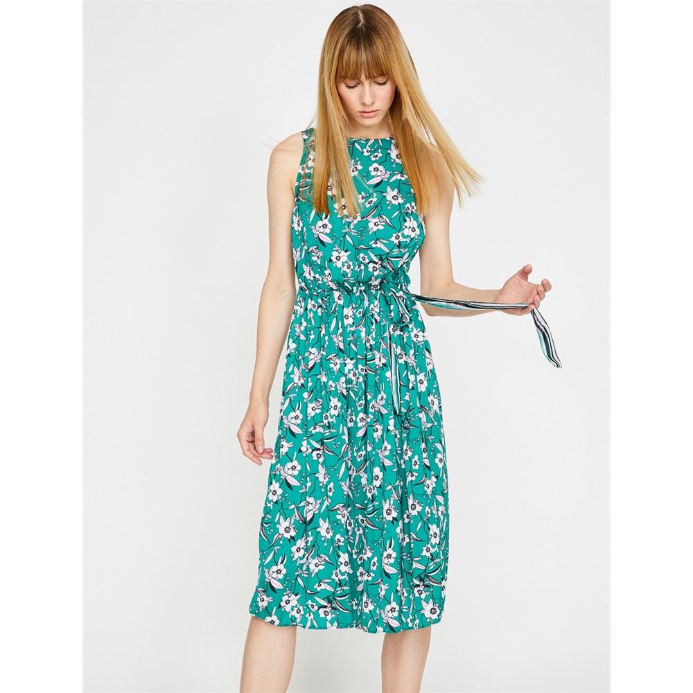 Koton Elbise 83001 Yeşil