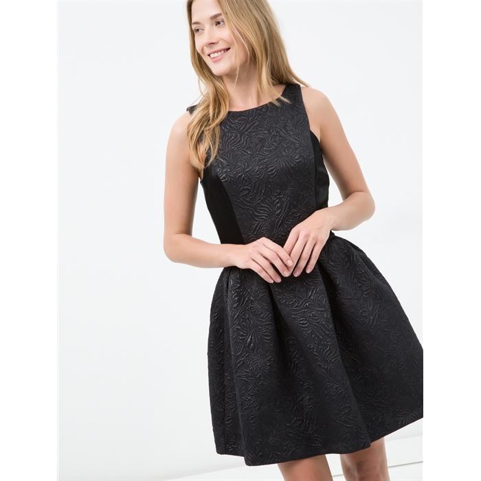 Koton Elbise 86089 Siyah